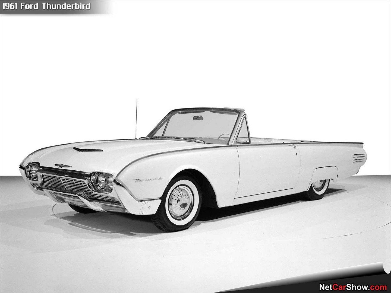 1961 Ford Thunderbird Wallpaper