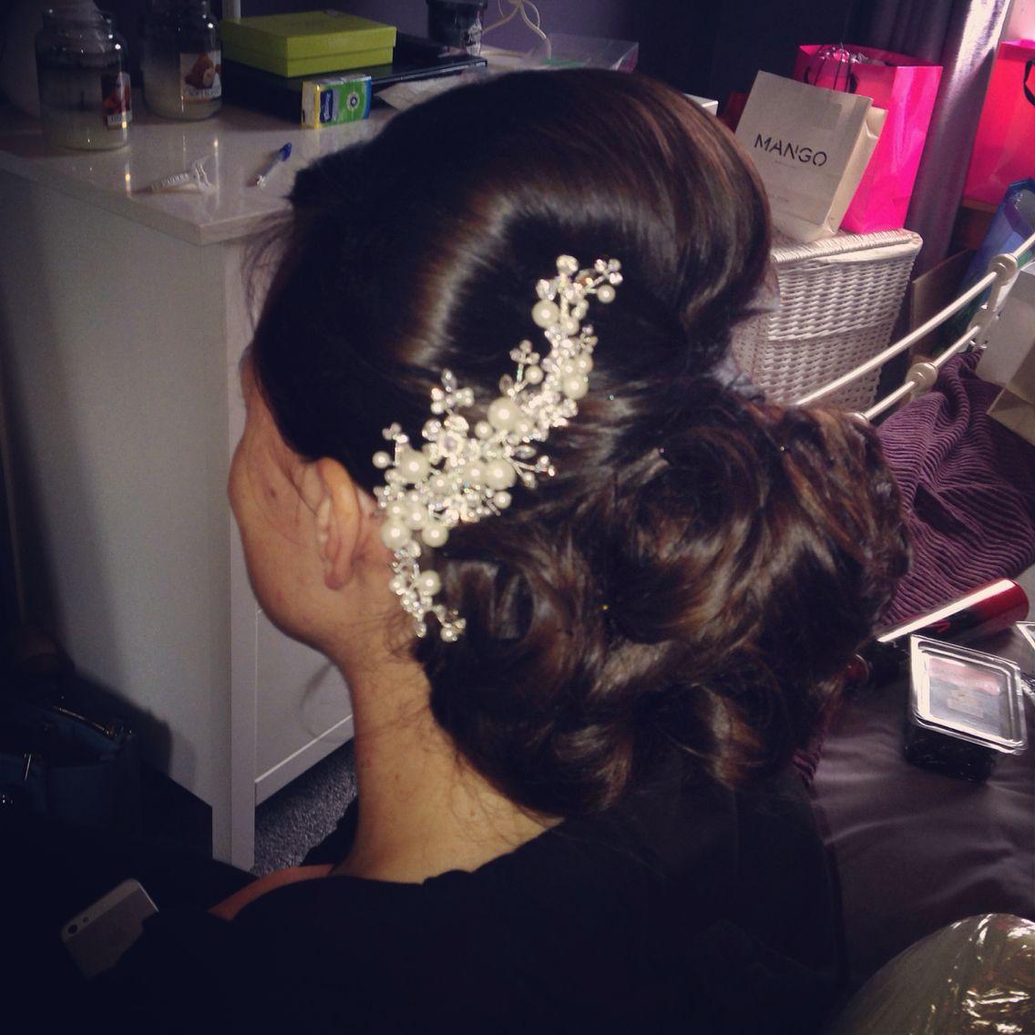 wedding hair bride hair hair up by elaine mcfadyen