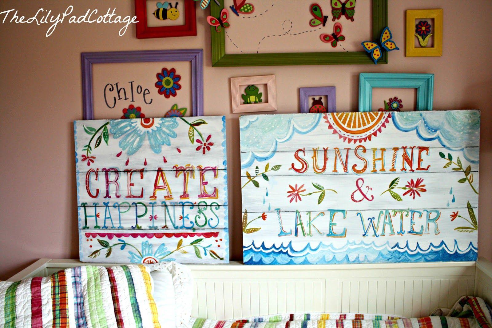 Pb teen knock off wall art lilyus big girl room pinterest