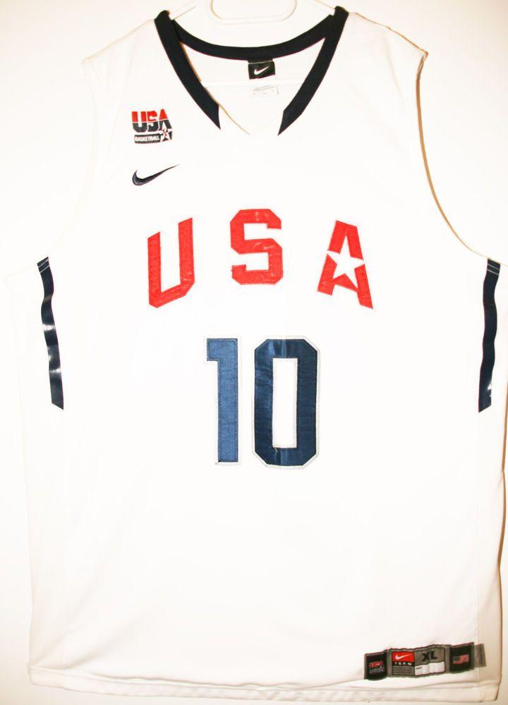 Nike NBA USA Basketball Team #10 Kobe Bryant Size 48 - Größe XL - 149