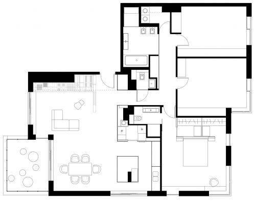 Delightful Centrala   Raw Apartment