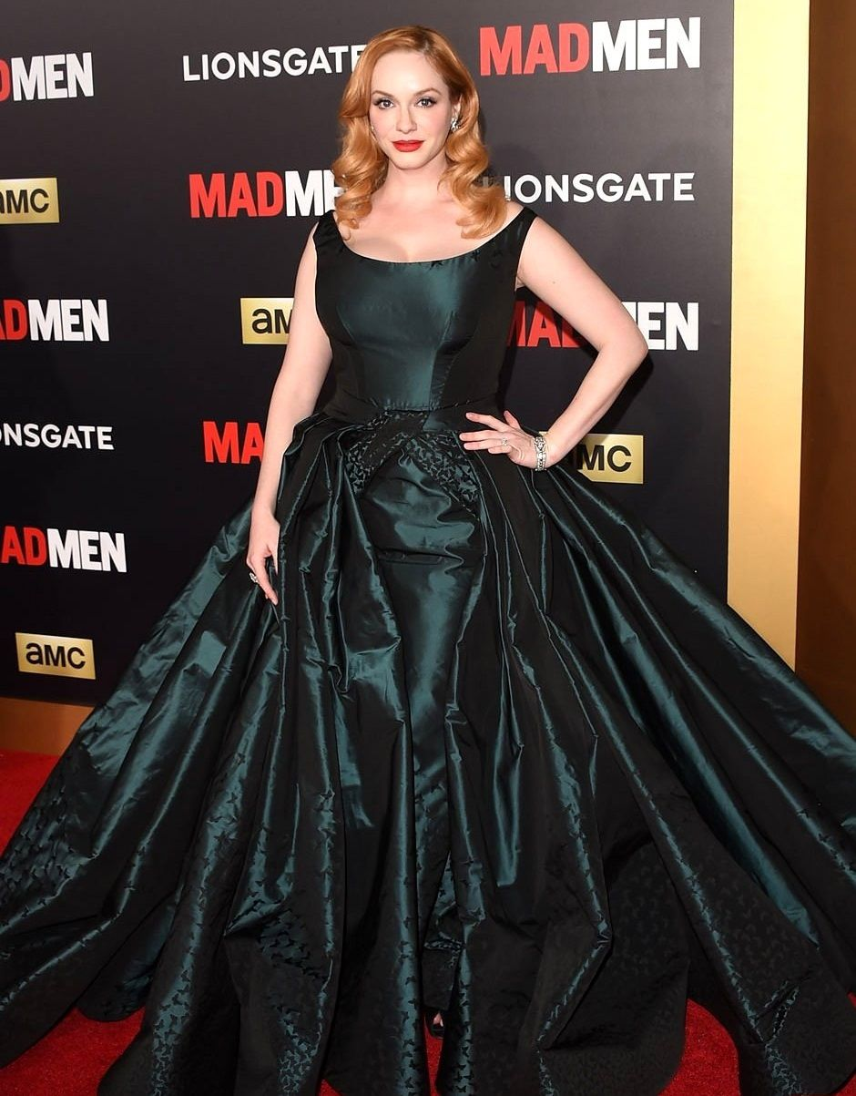 Christina hendricks kleider pinterest christina hendricks