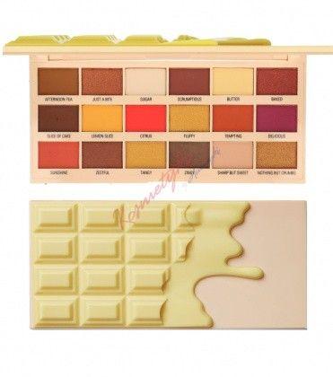 9df5a195fc48 Makeup Revolution Lemon Dizzle Chocolate Palette Paleta 18 Cieni Do Powiek
