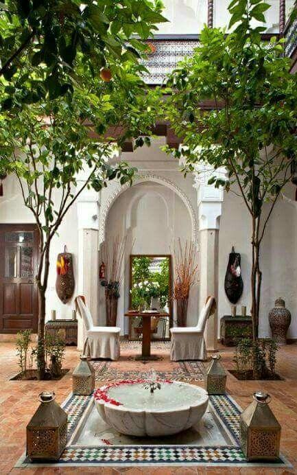 Beautiful Islamic Garden from MOROCCO | Islamic Art in ...