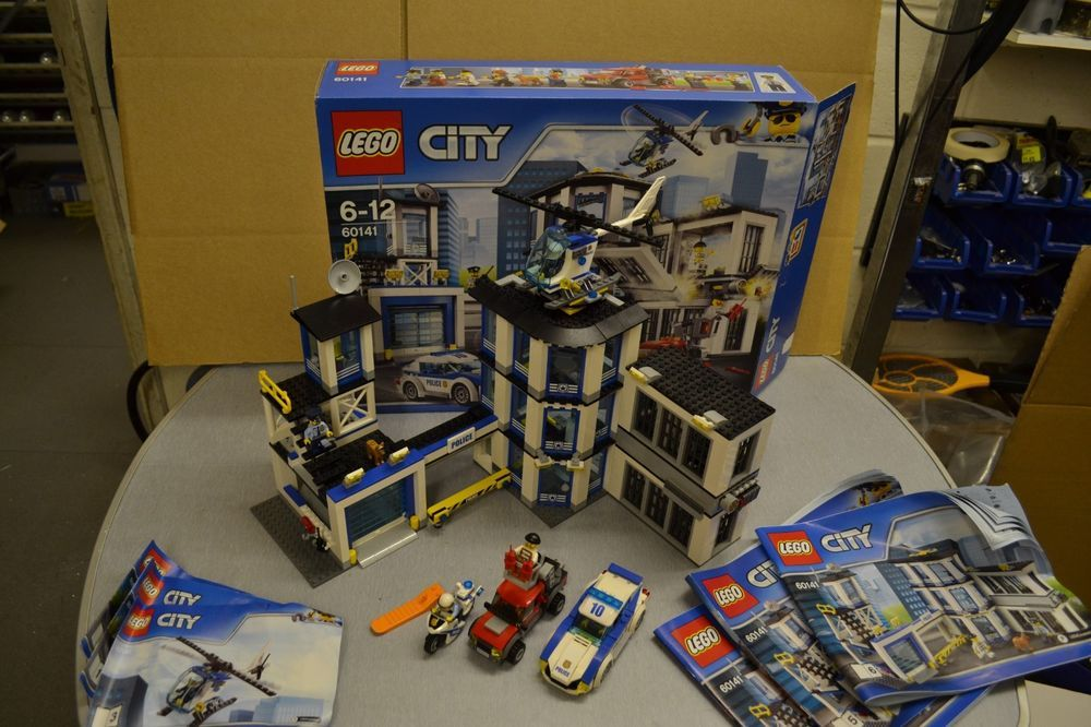 Complete Lego City Police Station X28 60141 X29 With Box Check Out Our Other Lego Sets For Sale X21 Lego City Police Station Lego City Police Lego City