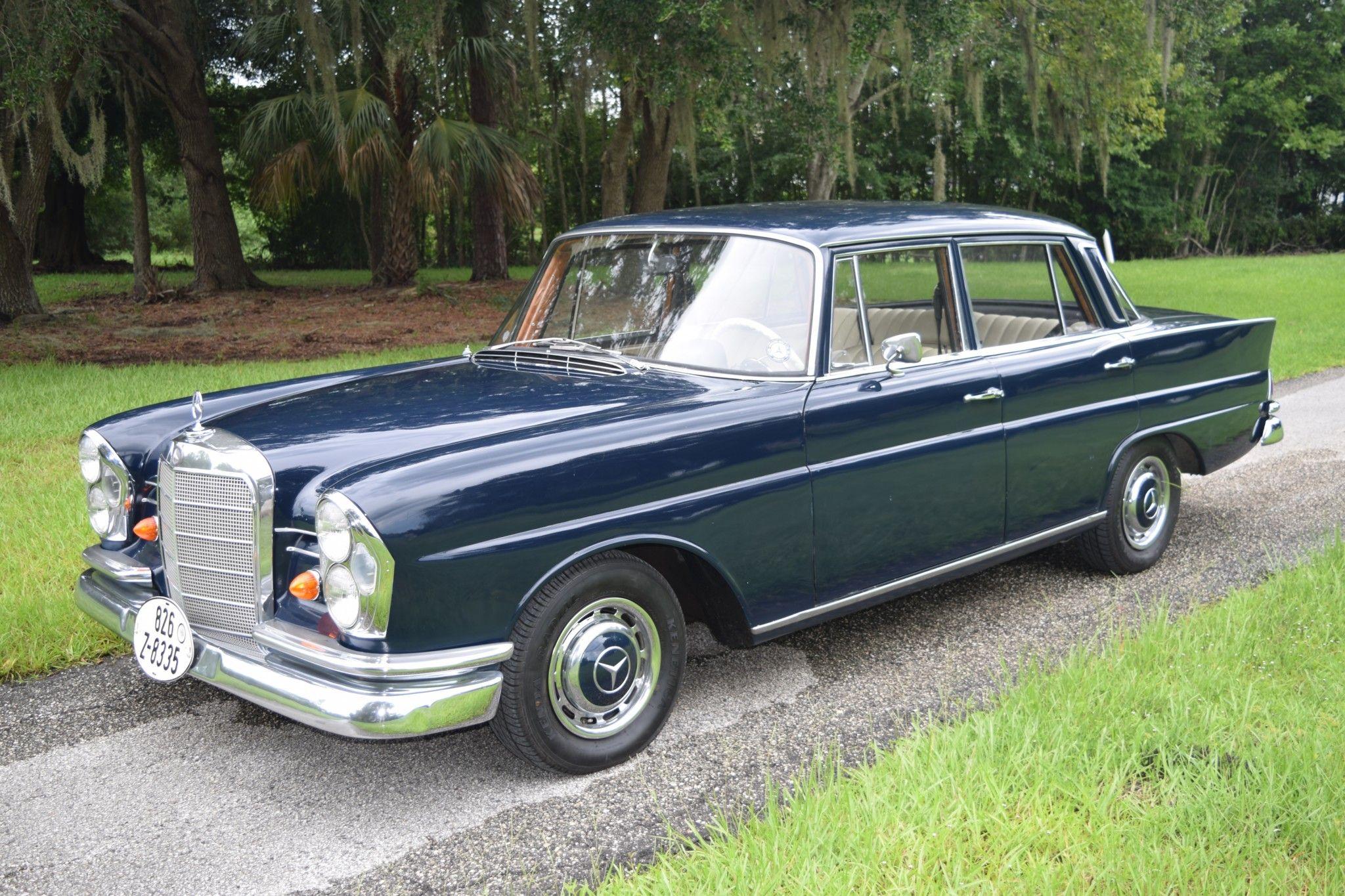 No Reserve 1965 Mercedes Benz 220se Mercedes Benz Classic Cars Mercedes