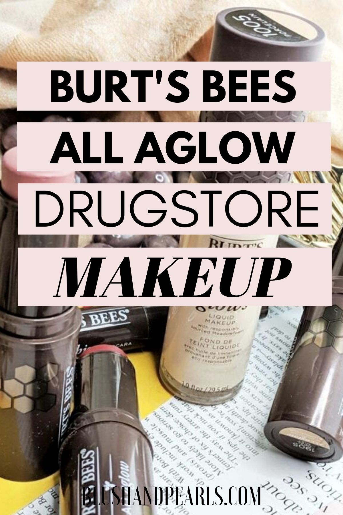 All Aglow With Burt's Bees Makeup (With images) Cruelty