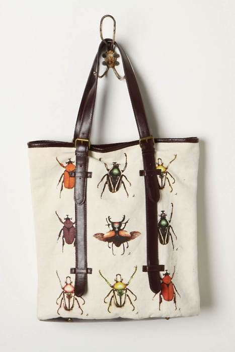 keeping my eye out for one of these totes from anthropologie last summer.