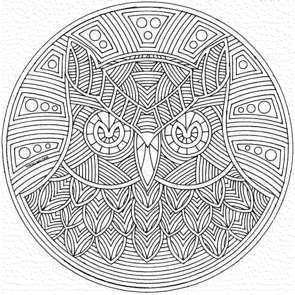 detailed coloring pages for adults printable kids colouring pages - Detailed Coloring Books