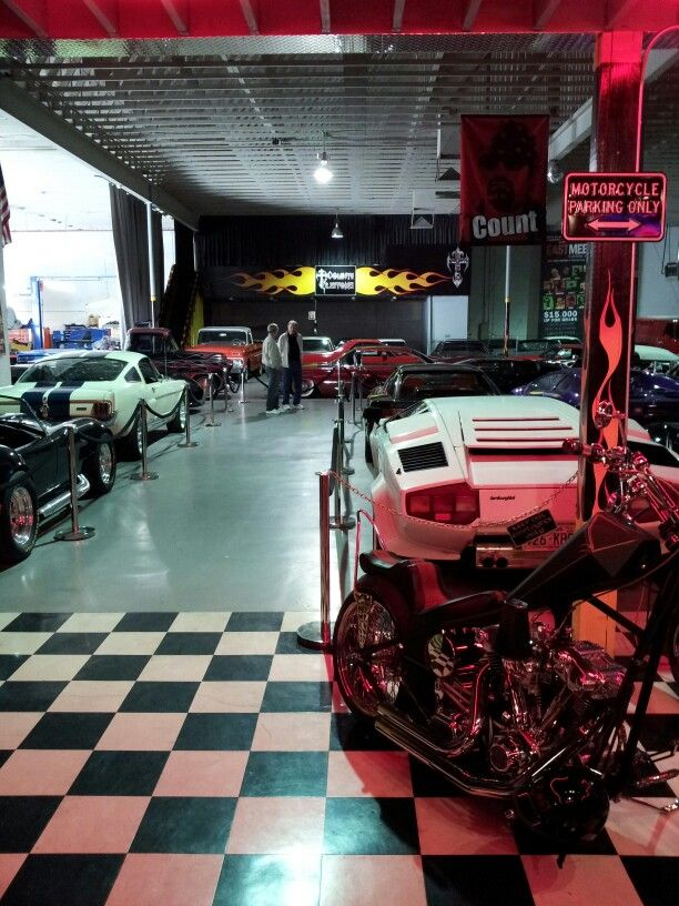 Car enthusiasts can tour the collection of cars at Count's