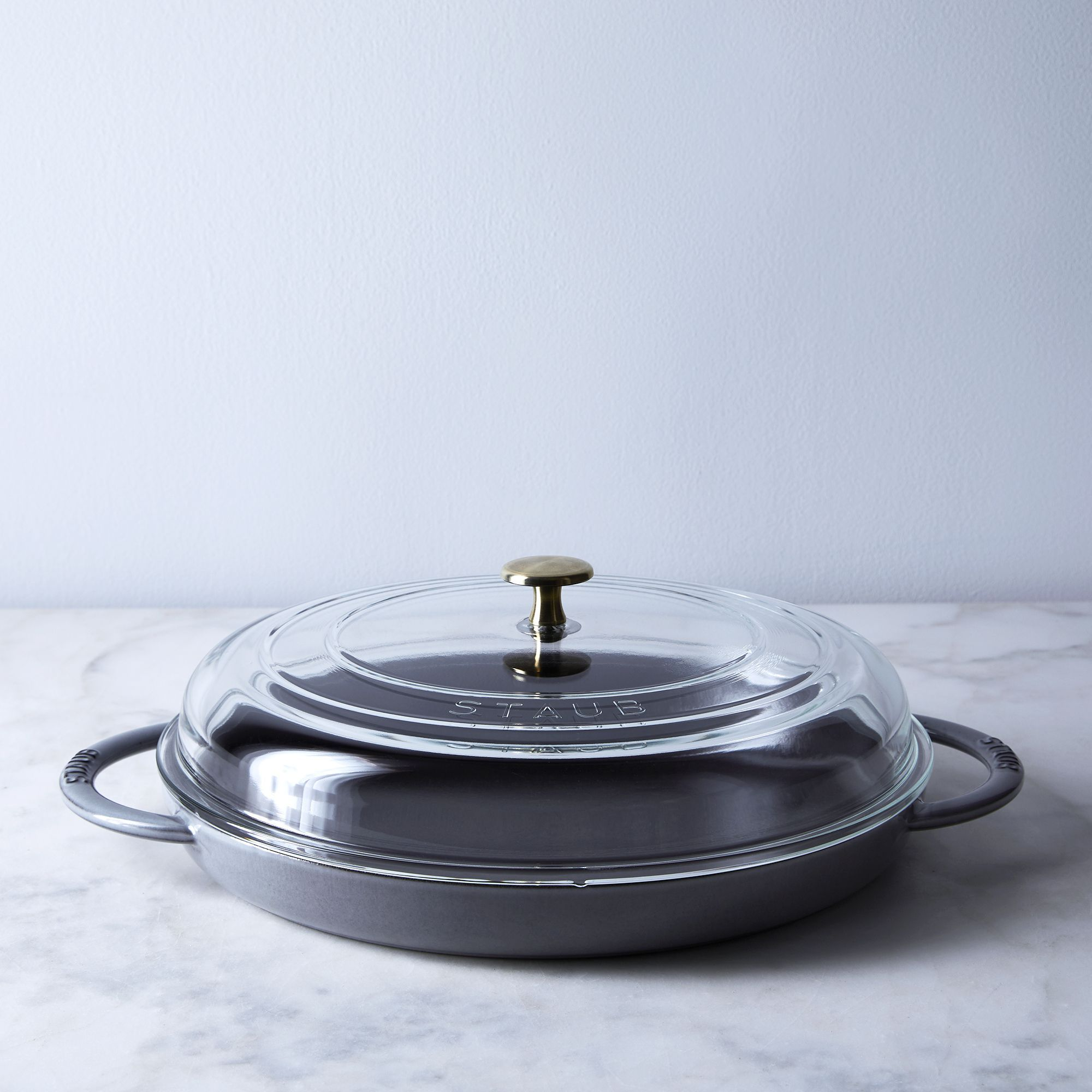 Food52 X Staub Steam Griddle With Glass Lid In 2020 Food 52 Staub Pizza Bake