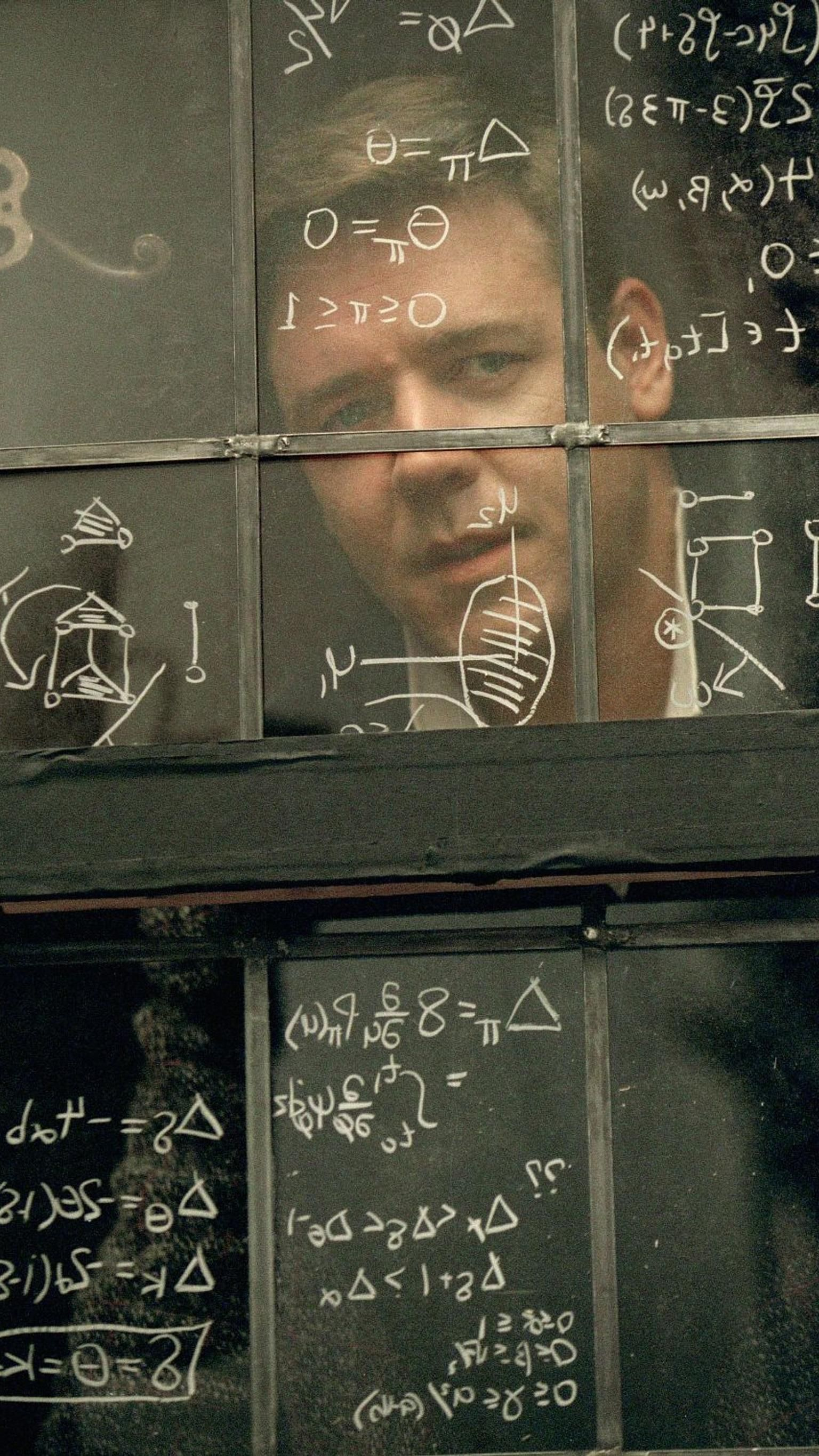 A Beautiful Mind (2001) Phone Wallpaper Moviemania in