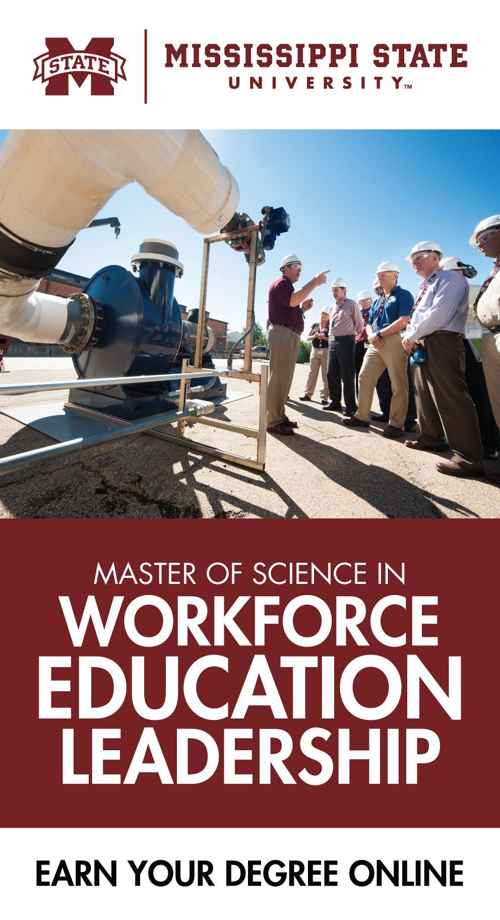 The Master of Science in Workforce Education Leadership