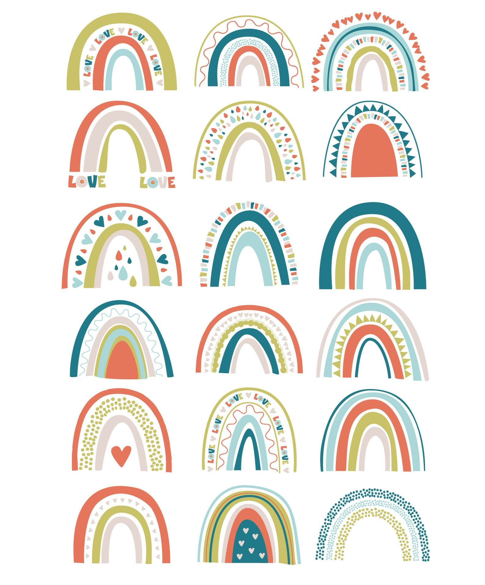 Rainbow Confetti Clipart Set Trendy Abstract Spring Pastel Color Collection Cloud Heart Bright Digital Clipart Baby Simple Scandi Png Eps In 2021 Clip Art Rainbow Clipart Rainbow Art