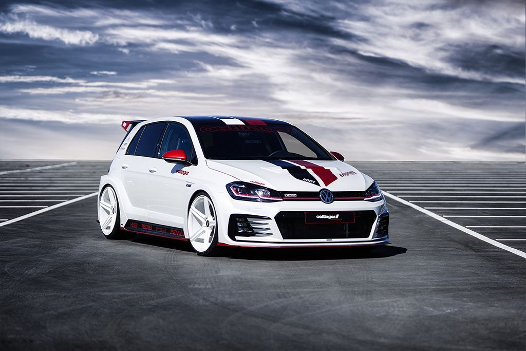 Vw Golf Gti Tcr Germany Street Is Oettinger S Idea Of A Tuned Hot