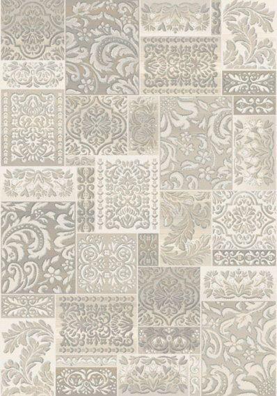 Alfombra patchwork laguna 12 alfombras modernas - Alfombras de salon ...