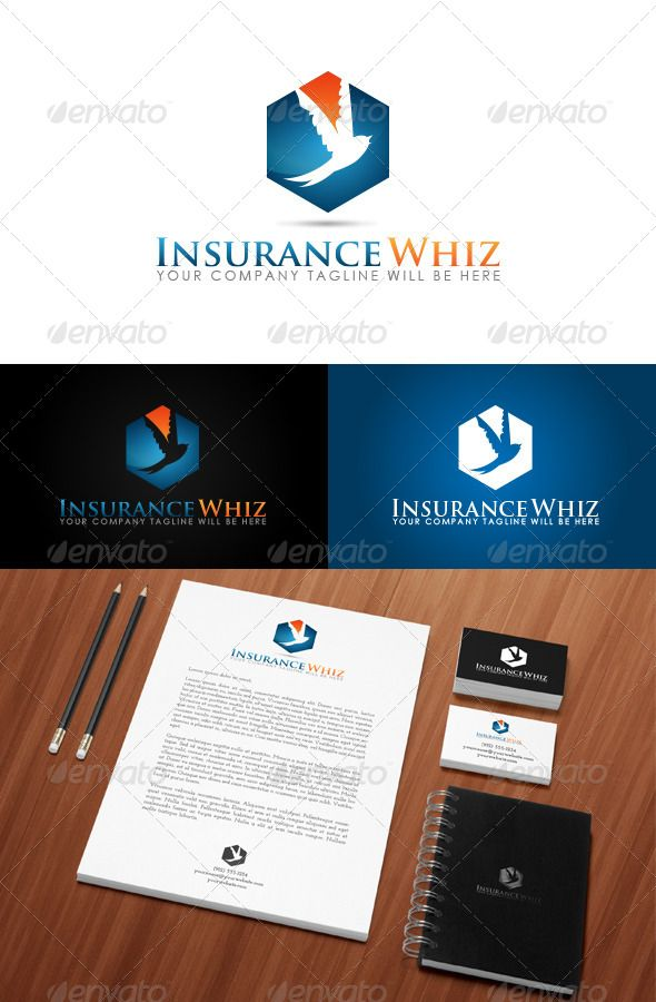 Insurance Whiz Logo Website Logo Design Portfolio Logo