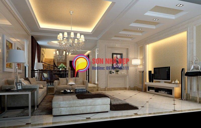 Cool Màu Sơn Phòng Mới & Khách Hiện Đại Nhất Hiện Nay  Sonnha Enchanting Living Room Candidate Decorating Design