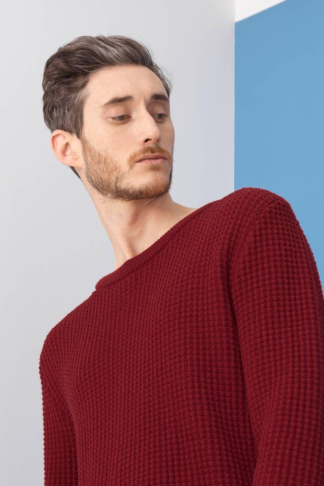 Pull 100% laine vierge d Australie, filée en Autriche — Tricoté en maille 0e59d1e51562