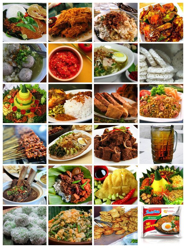 20 authentic and traditional indonesian foods you should for Authentic indonesian cuisine