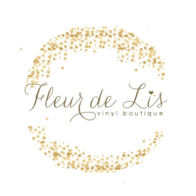 Gold Confetti Logo Premade Logo Design Gold Glitter