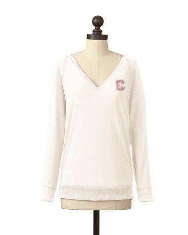 Cornell Big Red | Pullover V-Neck Sweater | meesh & mia