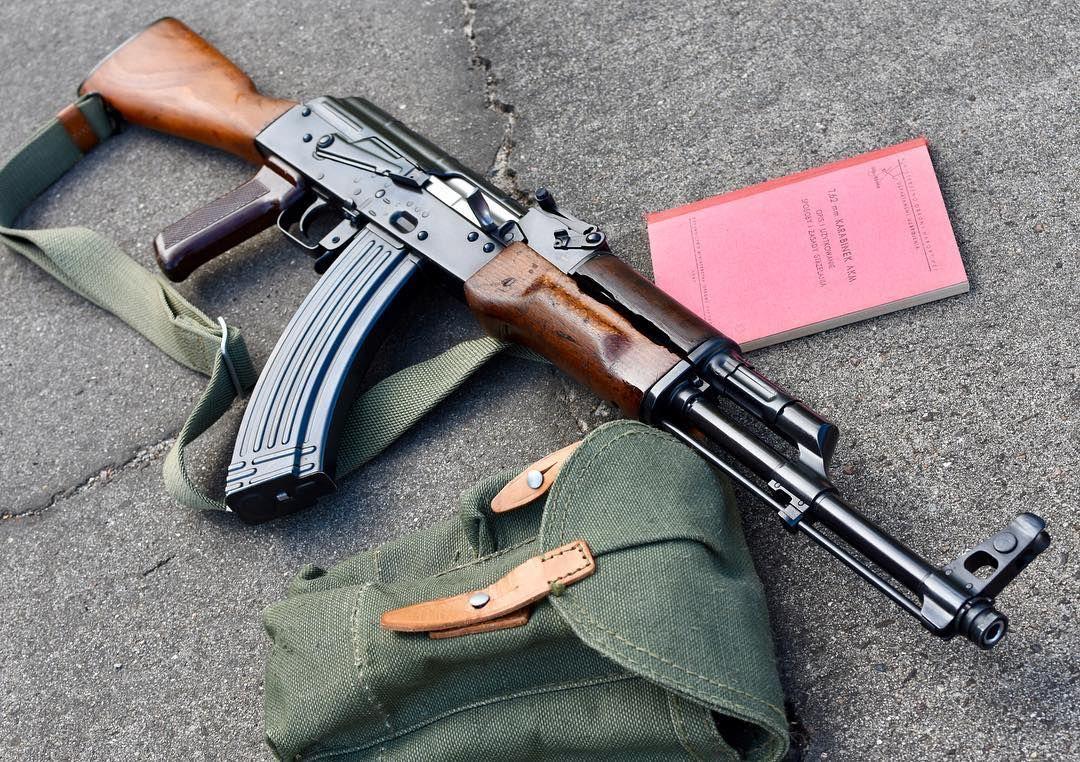 russianpaint we like hot blued guns too    1968 Polish AKM w