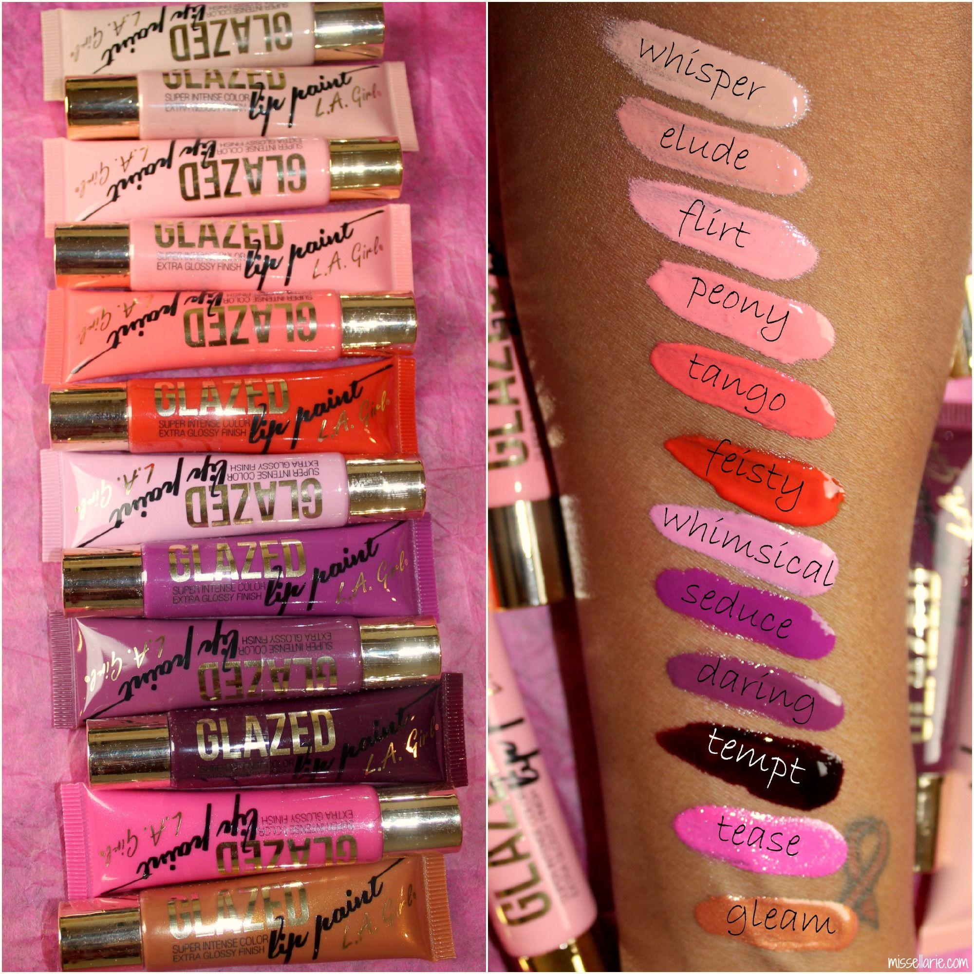 la girl glazed lip paint Google Search Lip paint, Eye