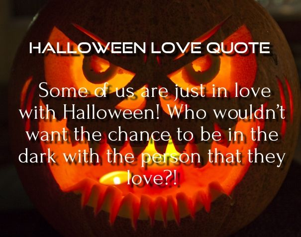Bon Cute Halloween Love Quotes