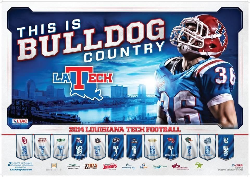 2014 Football Schedule Poster 3 unveiled! BulldogCountry