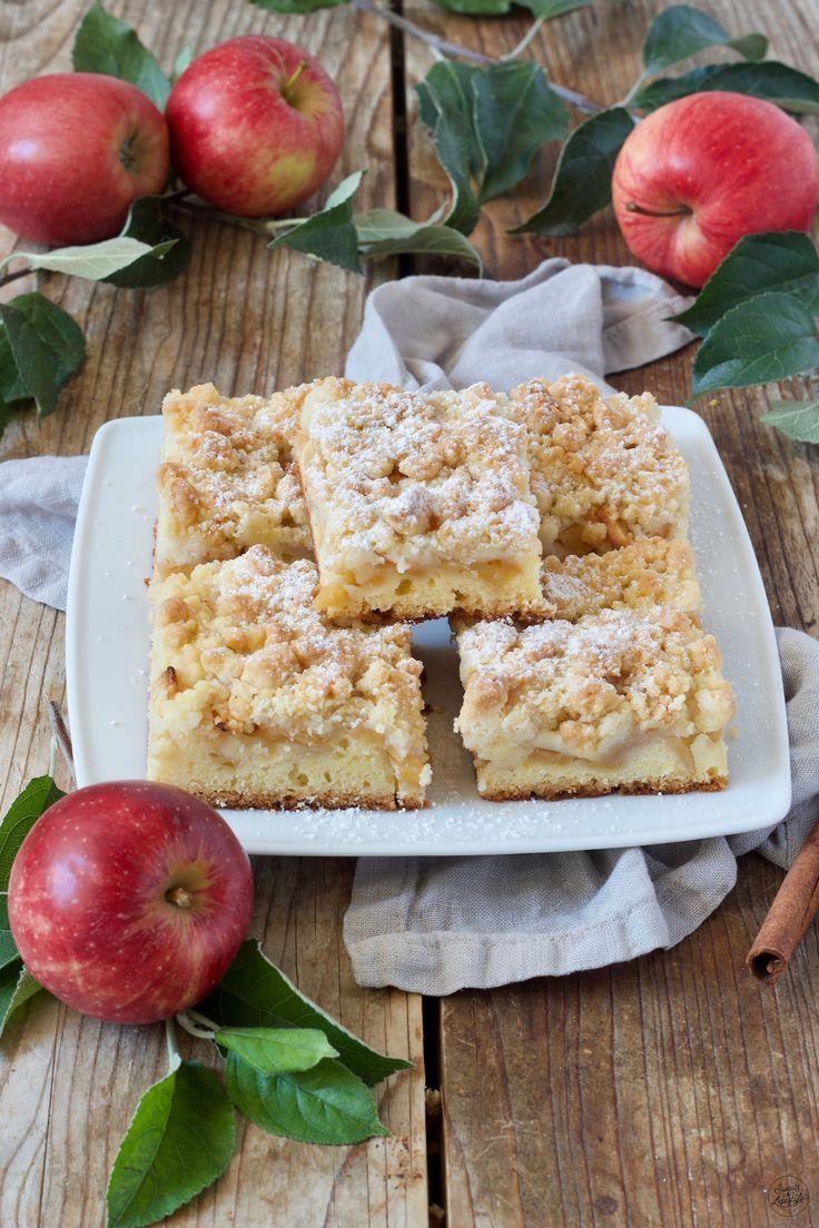 Apfel Streusel Kuchen - Rezept - Sweets & Lifestyle