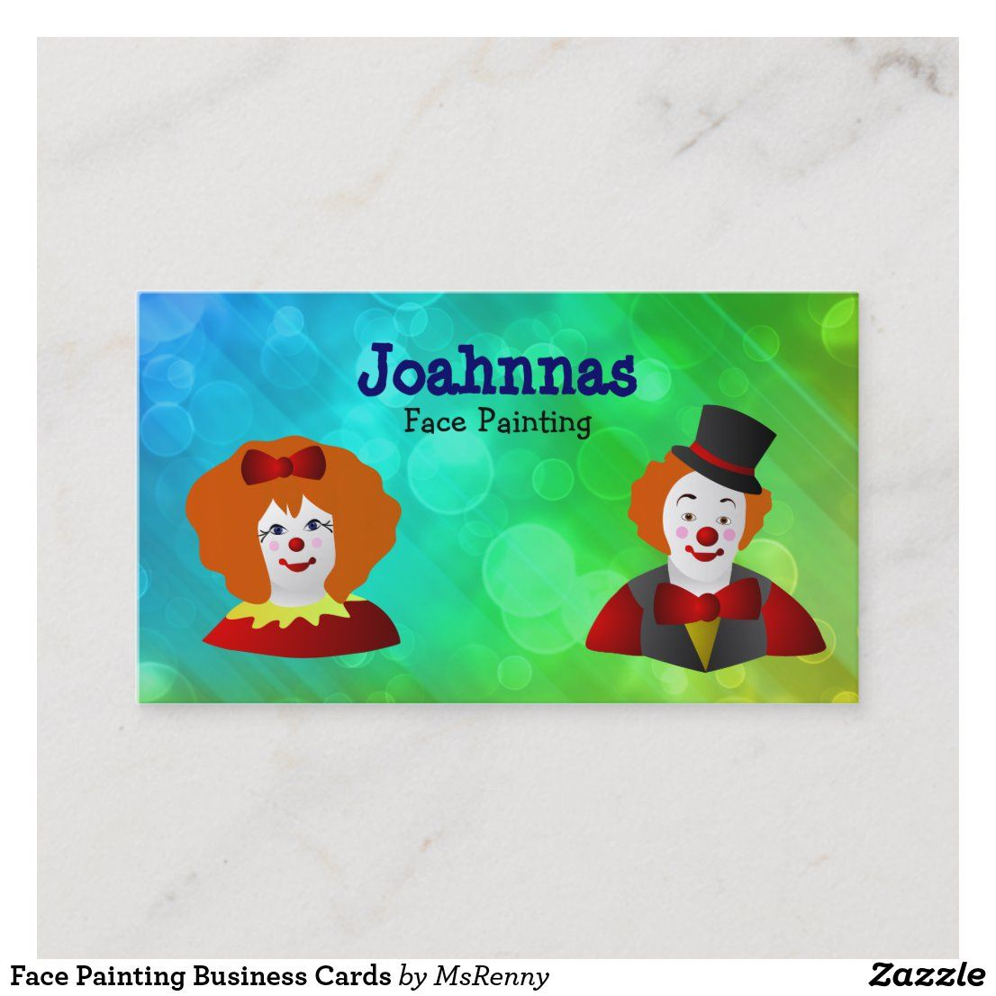Face Painting Business Cards Zazzle Com Face Painting Art For Kids Cards