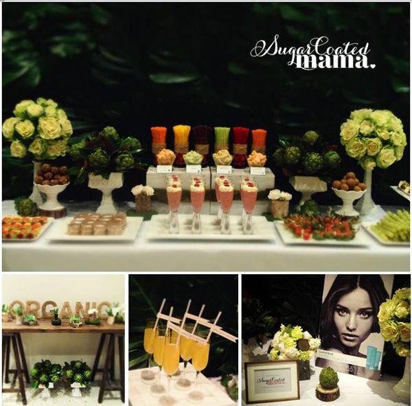 Organic Buffet Veggie Bar Planning Ideas Supplies Idea
