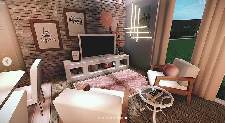 Pin on Blush room ideas for welcome to bloxburg :3