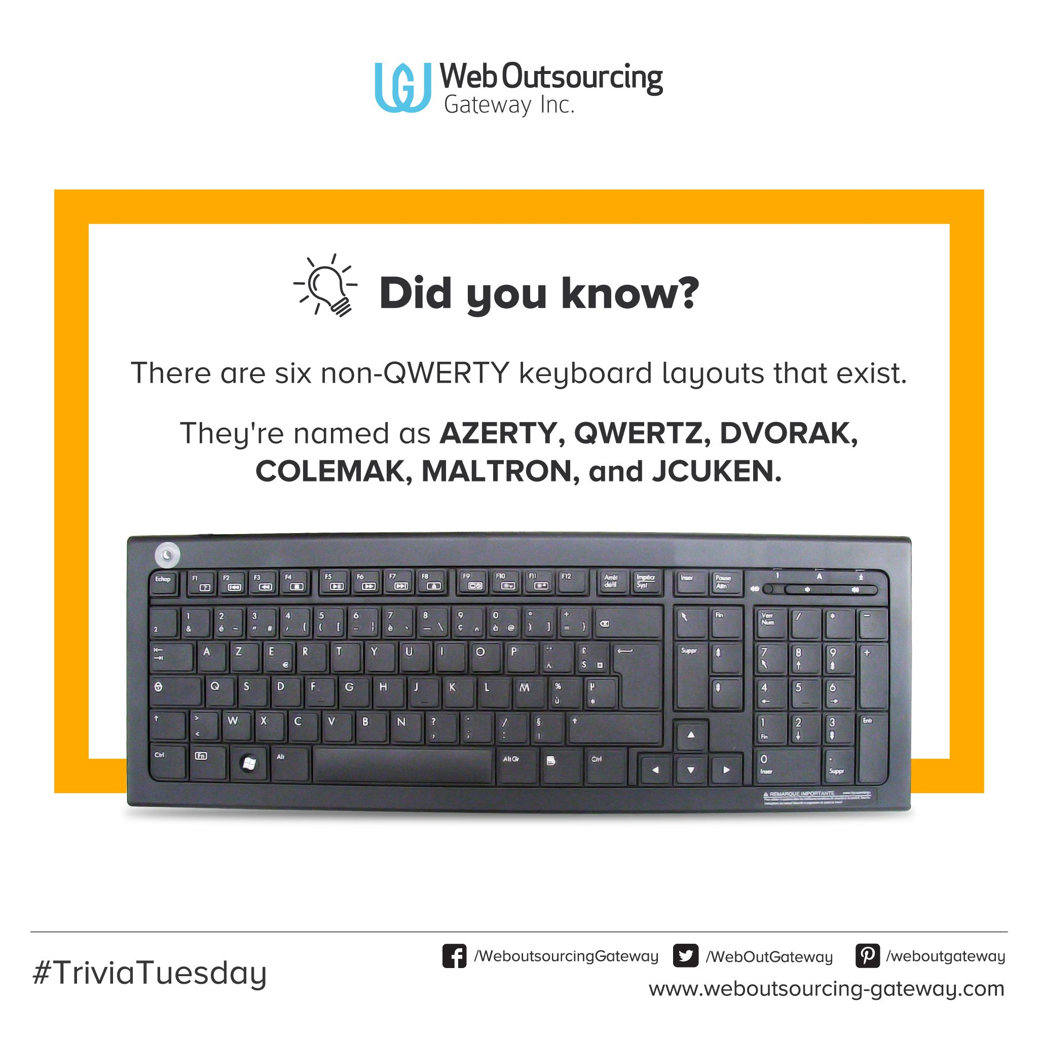 Home=QWERTY. Which one are you using? #keyboards #computer #trivia ...