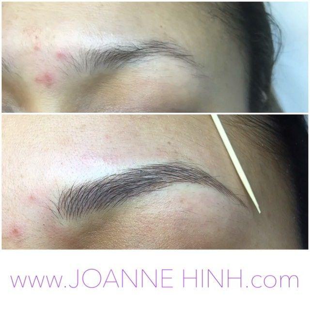 Hairstroke Eyebrow Embroidery (Semi-Permanent Makeup) www ...