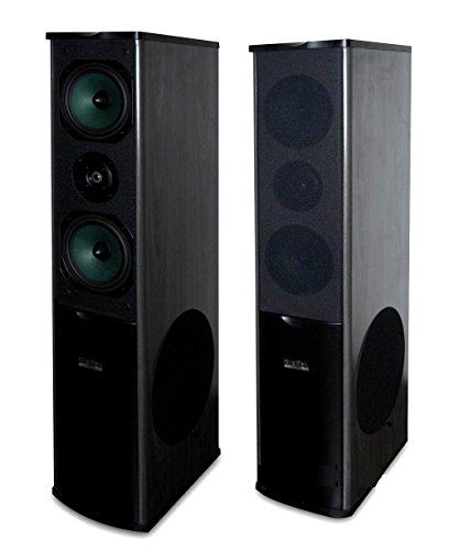 PAIR (2) DIGITAL AUDIO AD-1200SL 700W WOOD CABINET 3-WAY FLOOR STANDING  TOWER HOME SPEAKER BLACK W/ 10-inch Hyper Bass Dynamic Impact Subwoofer $  149.99 ...