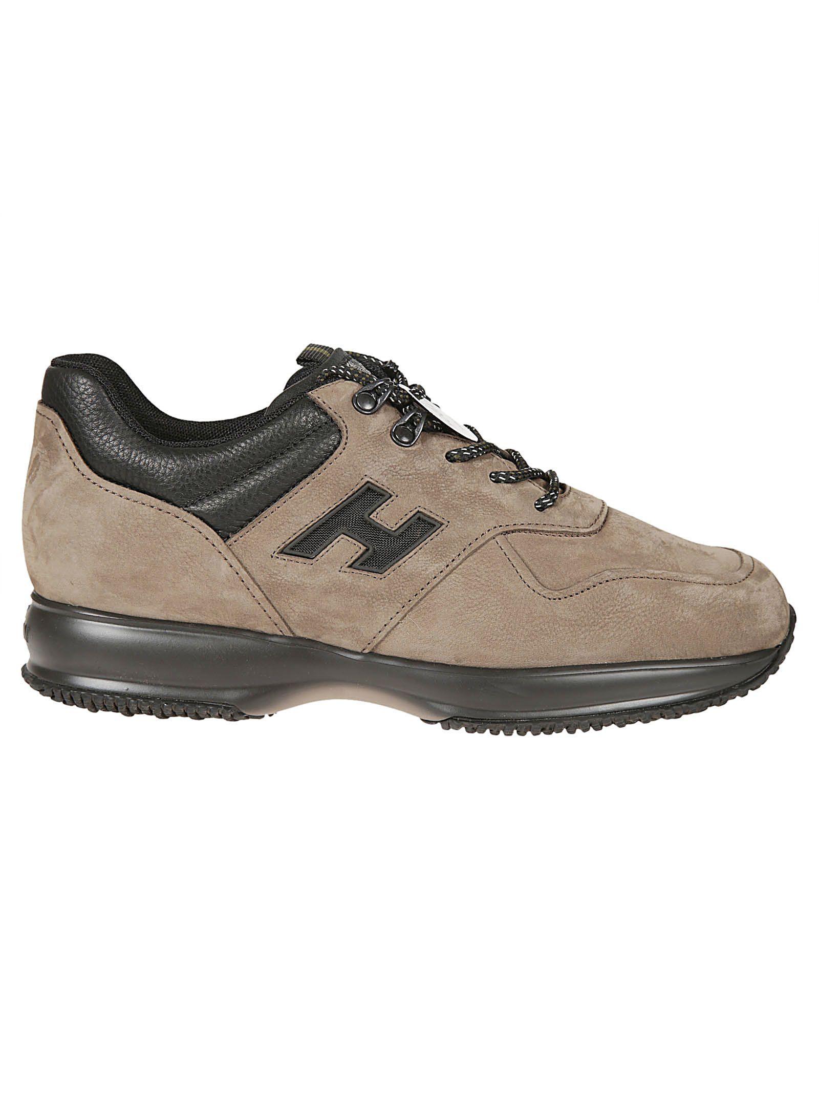 e07e80ab518 HOGAN INTERACTIVE SNEAKERS. #hogan #shoes   Hogan   Brown sneakers ...