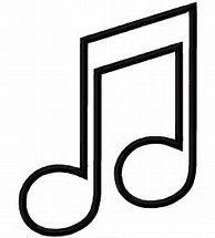 Image Result For Music Note Outline Music Notes Drawing Coloring Pages Music Notes