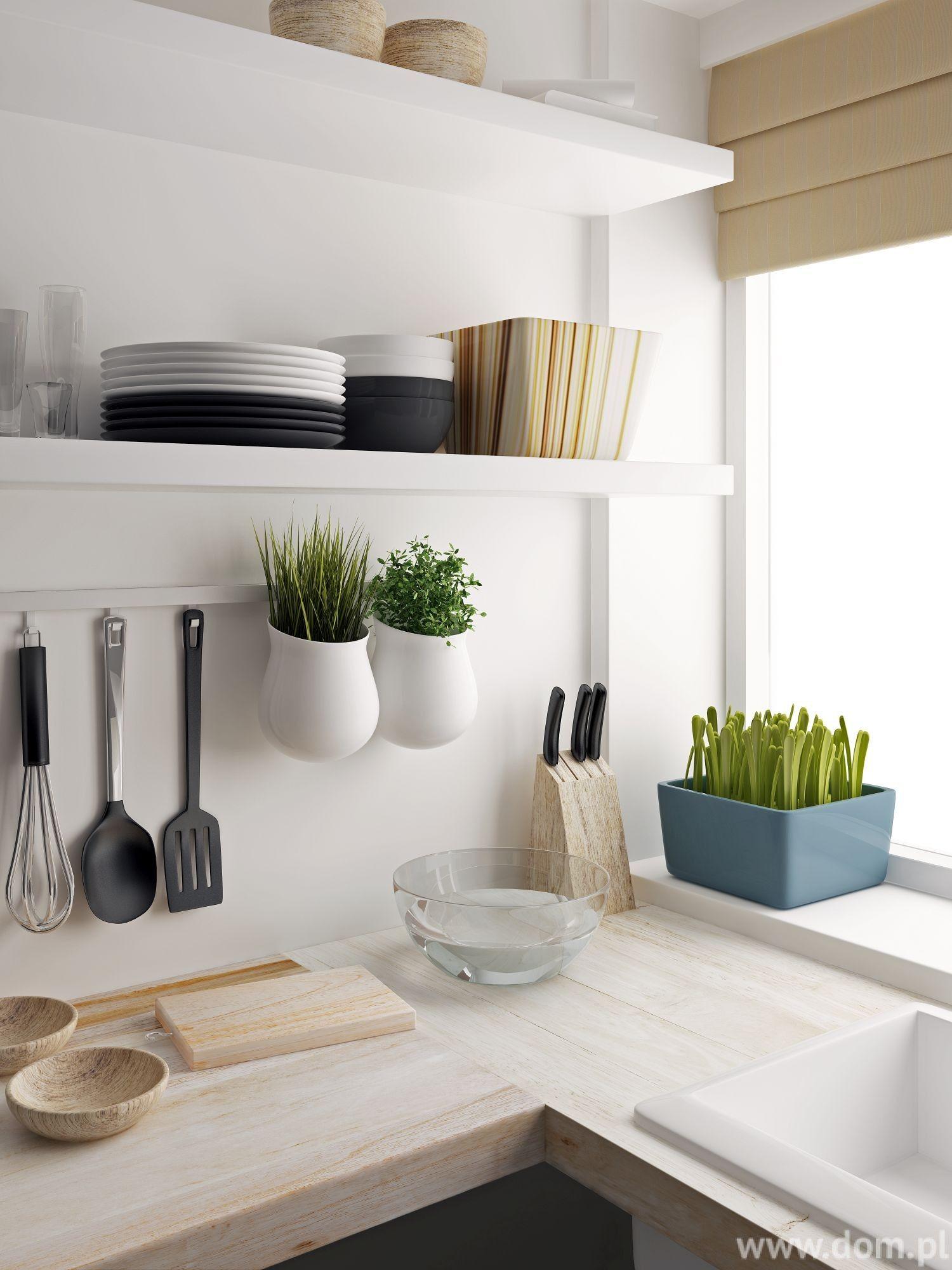 Znalezione Obrazy Dla Zapytania Kuchnia Bez Gornych Szafek Diy Kitchen Decor Trending Decor Diy Decor Projects
