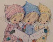 1971 Hallmark Betsy Clark Little Book