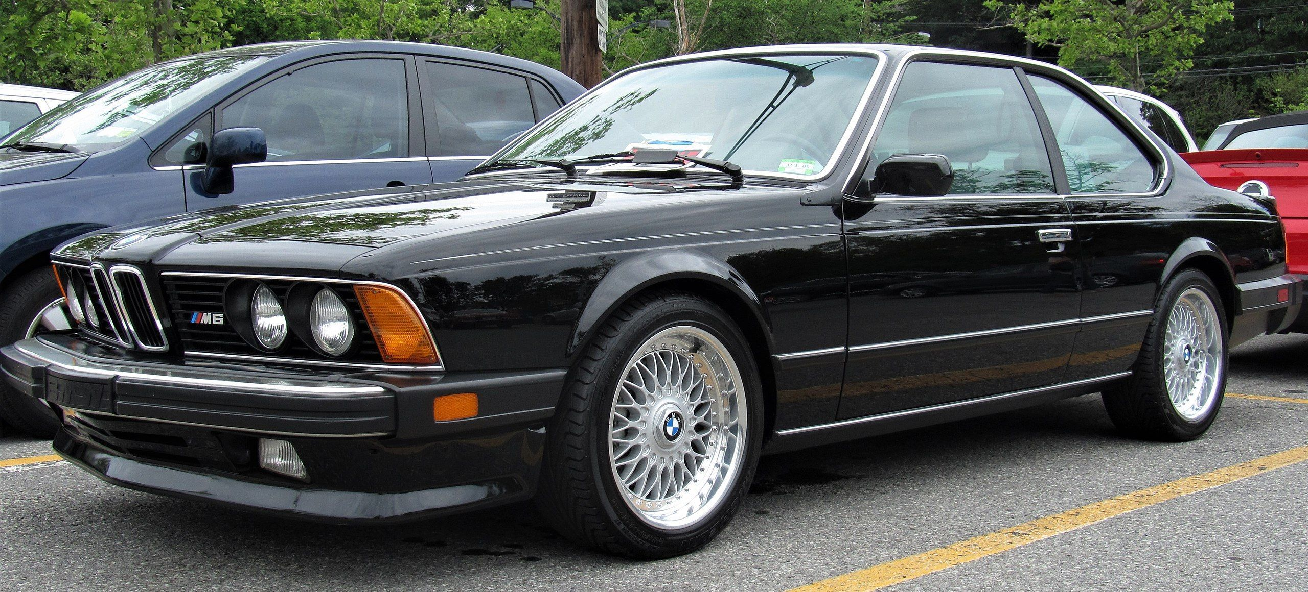 1987 E24 Bmw M6 Bmw Vintage Bmw Classic Cars Bmw E24