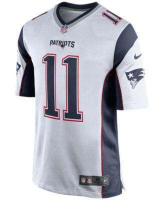 Nike Men S Julian Edelman New England Patriots Game Jersey White S New England Patriots Game Nfl New England Patriots New England Patriots