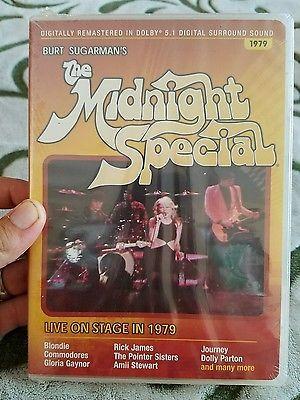 Burt Sugarman's THE MIDNIGHT SPECIAL 1979 (DVD) LIVE RARE MUSIC CONCERT New