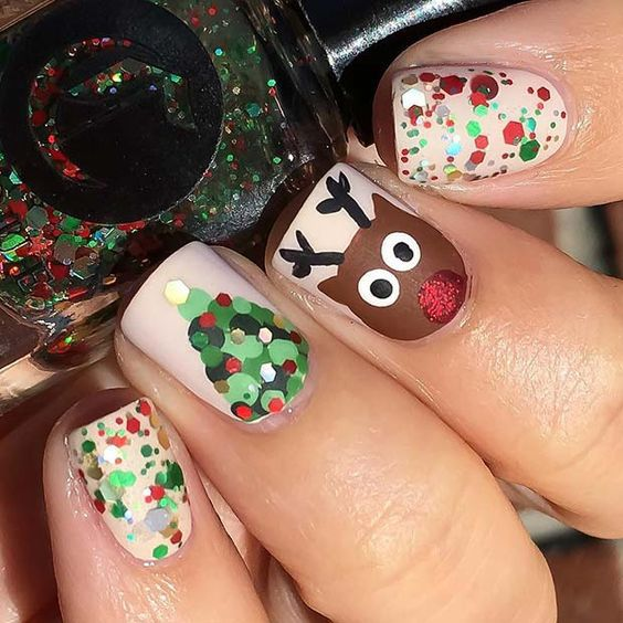 35+ Perfect Winter Nails For The Holiday Season