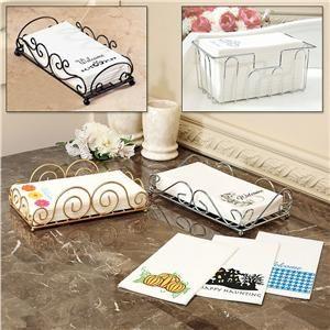 Paper Bathroom Guest Towels on bathroom napkins, bathroom wastebasket, bathroom guest towel tray holder, bathroom tumbler,