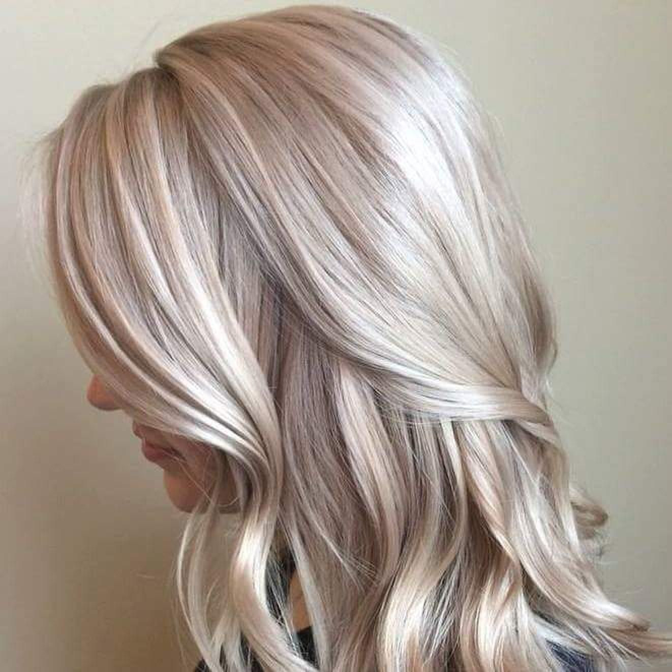 Amazing Hair Colour With Mother Of Pearl Tint 2015 Hair Color