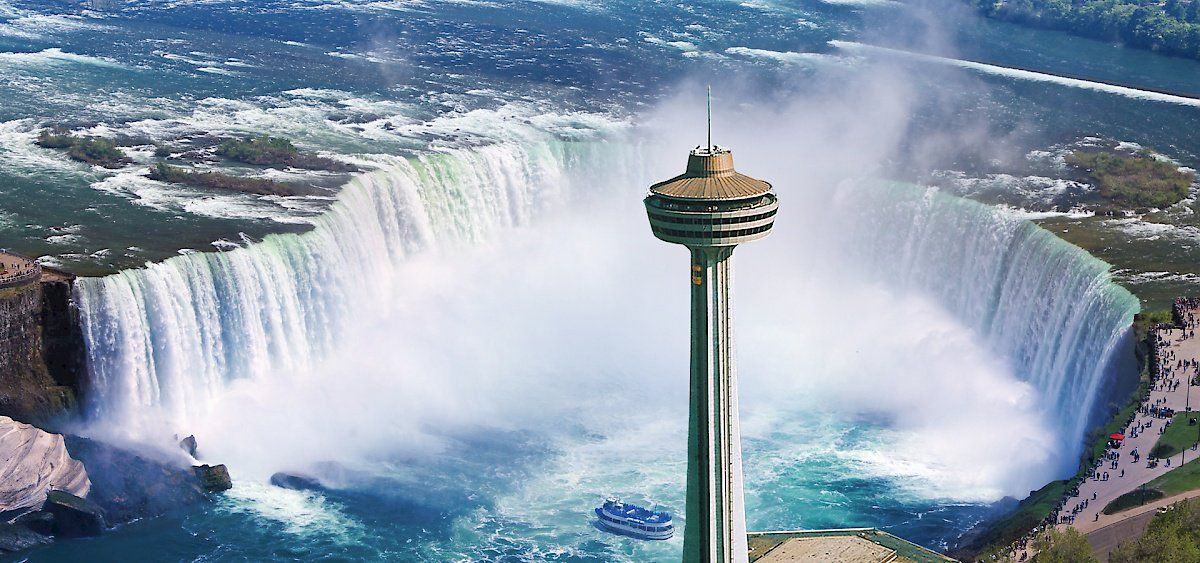 Skylon Tower Located In Niagara Falls Ontario Is The Tallest Total Alluring Skylon Revolving Dining Room Design Ideas