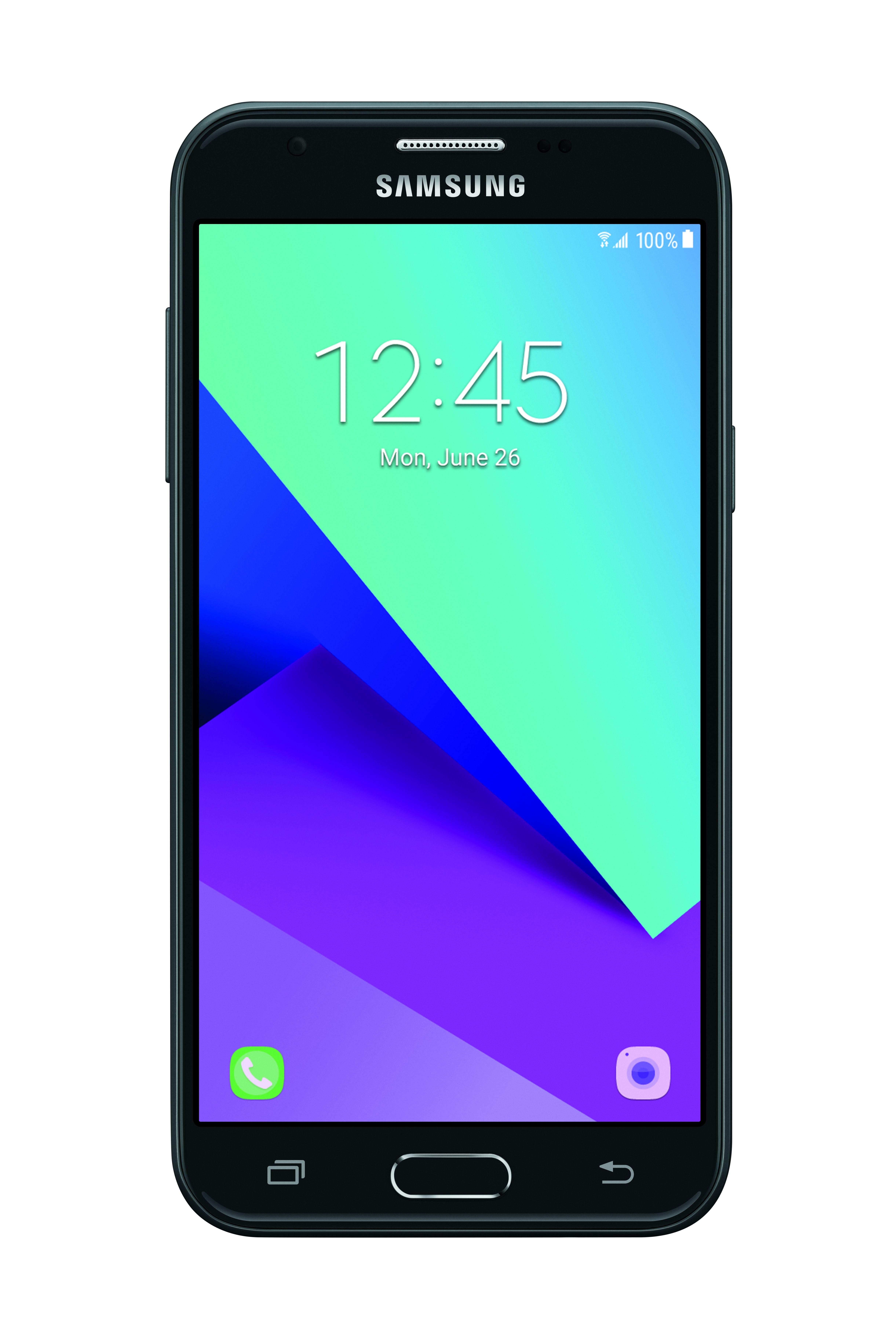 Verizon Samsung Galaxy J3 Mission 16GB Prepaid Smartphone, Black
