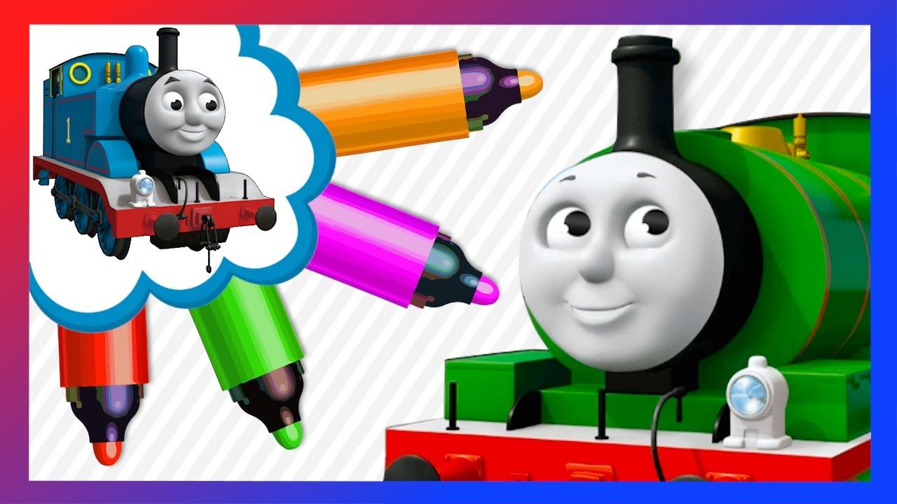 Colors Learning with Thomas and Mini Trains - Preschool Lessons for ...
